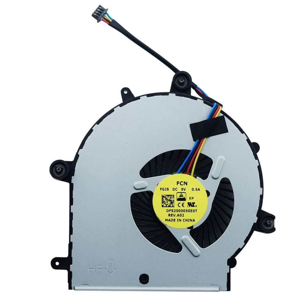 Cooler para HP Probook 655 G2 655 G3 650 G2 650 G3 Series 840733-001 840732-001 840734-001 DFS2000050E0T FGJS 6043B01913