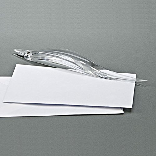 Clear Acrylic Dual Purpose Letter Opener and Staple Remover by Creative Gifts International