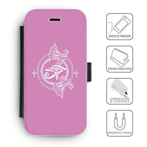 Flip PU Leather Wallet Case avec des fentes de carte de crédit // Q09870618 Religion 27 Bronze // apple iphone 7 2016