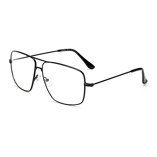 Amazon.com: Dollger Oversized Glasses Stylish Lightweight Metal ...