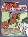 Colorie les chevaux par Miss Prickly