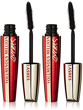 90dfeade267 Image Unavailable. Image not available for. Color: L'Oreal Voluminous  Million Lashes Excess Mascara, 459 Blackest Black ...