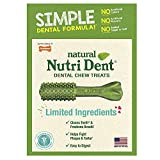 Nylabone Nutri Dent Small Limited Ingredient Dental Dog Chews | 50 Count