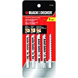 Black & Decker 75-530 Jig Saw Blades (5 Pack)