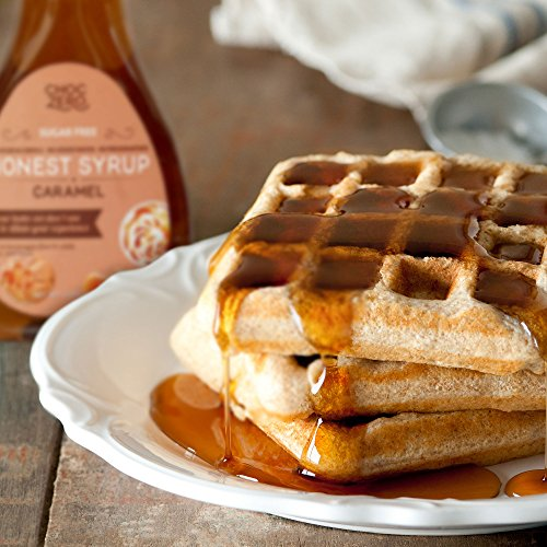ChocZero's Honest Syrup, Multi Flavor Sauce. Sugar free, Sugar Alcohol free, No preservatives, Gluten Free, Low Carb, No added water. 3 Bottles(Chocolate, Caramel, Maple Pecan)