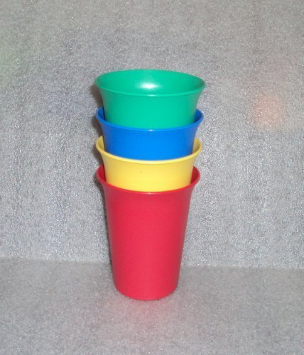 (Tupperware Sippy Cup Tumblers Kids 4 Piece Set)