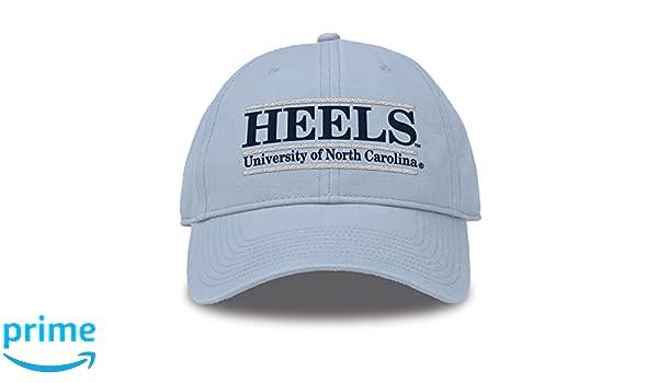 new arrival 196ba 6c28e Amazon.com   The Game NCAA North Carolina Tar Heels Bar Design Twill Hat, Columbia  Blue, Adjustable