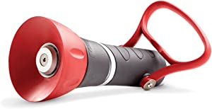 Gilmour 855032-1001 High-Pressure PRO Fireman's Spray Nozzle with Large, Red/Black