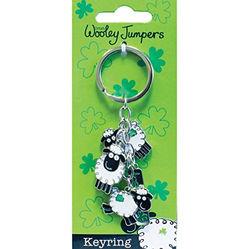 Jumper Keychain (Dublin Gift Woolley Jumper Charm Key Ring)