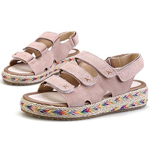 SUNAVY - Zapatos de tacón  Mujer Beige