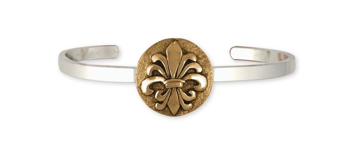 Fleur De Lis Bracelet Handmade Flower Jewelry