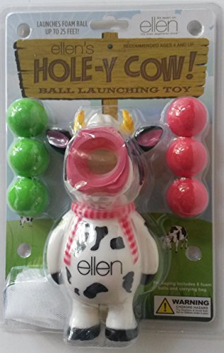 - Ellens Hole-y Cow Ball Launching Toy