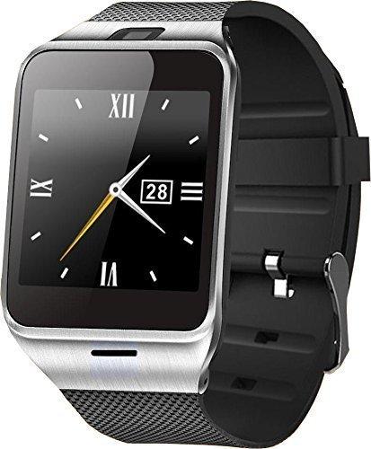 GV18/APLUS - Smartwatch (pantalla de 1, pulgadas, altavoz, acero ...