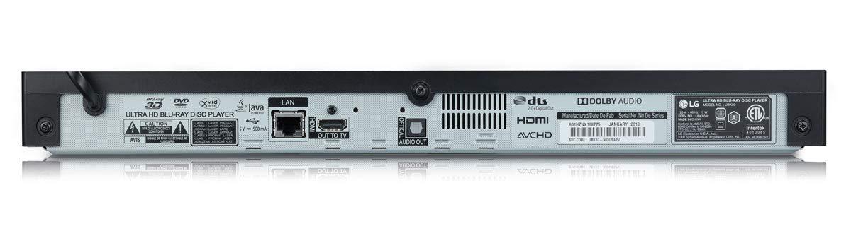 LG Electronics BP550 Blu-Ray Player with Wi-Fi 2015 Model