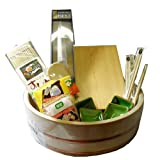 12 PCS Sushi Making Set Kit-Wooden Oke