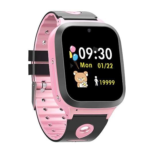 AUTOECHO - Reloj Inteligente Impermeable para niños con GPS ...