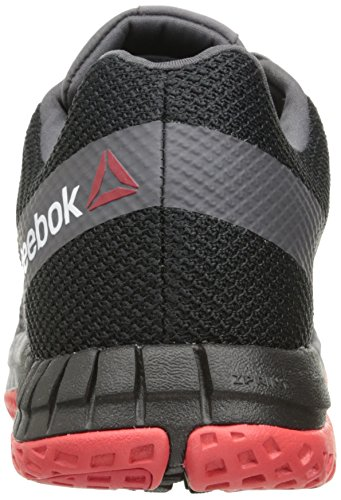 Zapatillas De Running Reebok Hombres Zprint Black / Ash Gray / Asteroid Dust / Primal Red / Peltre