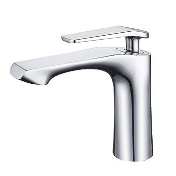 Armaturen waschbecken  Derpras Chrom Wasserhahn Bad Armatur Waschbecken Mischbatterie ...