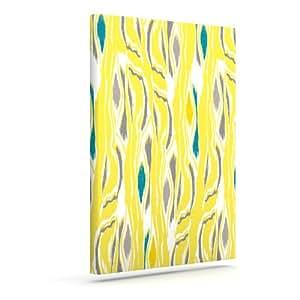 "Kess InHouse Gill Eggleston ""Barengo Sunshine"" Outdoor Canvas Wall Art, 20 by 24-Inch"