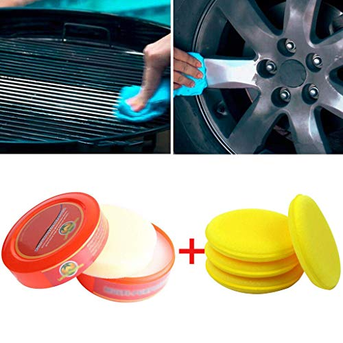 (Wanzi2 Natural Multi-Purpose Detergent Brilliaire Polisher Biodegradable Lemon - for Home,Eco-Friendly Cleaner - All-Purpose,Kitchen Lemon (Multicolor))