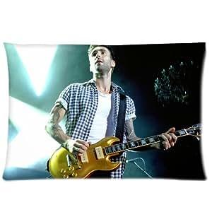 Adam Levine Playing Guitar Pillowcases 20x26 Inch