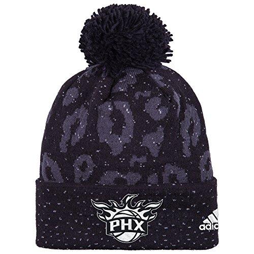 NBA Women's Black Out Print Cuffed Knit Beanie – DiZiSports Store