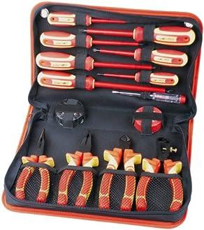 Elektriker Werkzeugkoffer Bild