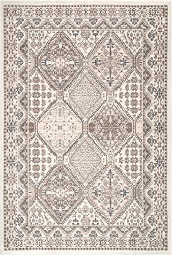 nuLOOM Becca Vintage Tile Area Rug, 11 x 14 6 , Beige