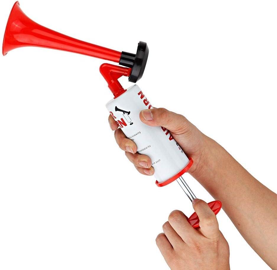 KSTE Bomba de Aire de Mano Cuerno Loud Noise Maker de Seguridad del Barco del Coche acontecimientos Deportivos