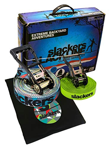 Slackers 50 Slackline Classic Set - Prism by Slackers