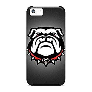 Covers phone carrying cases Eco-friendly Packaging Eco Package iphone 5C - georgia bulldogs