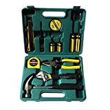 Latiq Mart Multipurposes Uses for Household, Hardware, Electronics Repairing 12 in 1 Hand Tool Kit Set Screwdriver Hammer Set