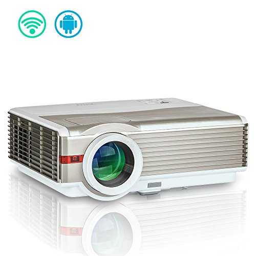Wireless Android HD Video Projector Outdoor Theater 4200 ...