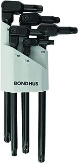 product image for Bondhus 00029 Hexpro Pivot Head 5Piece Torx Wrench Set (1per Pack)