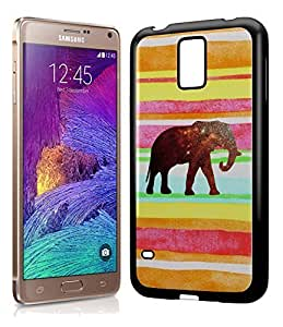 Aztec Tribal Space Elephant Hipster Pattern Phone Case Cover Designs for Samsung Galaxy Note 4 WANGJING JINDA