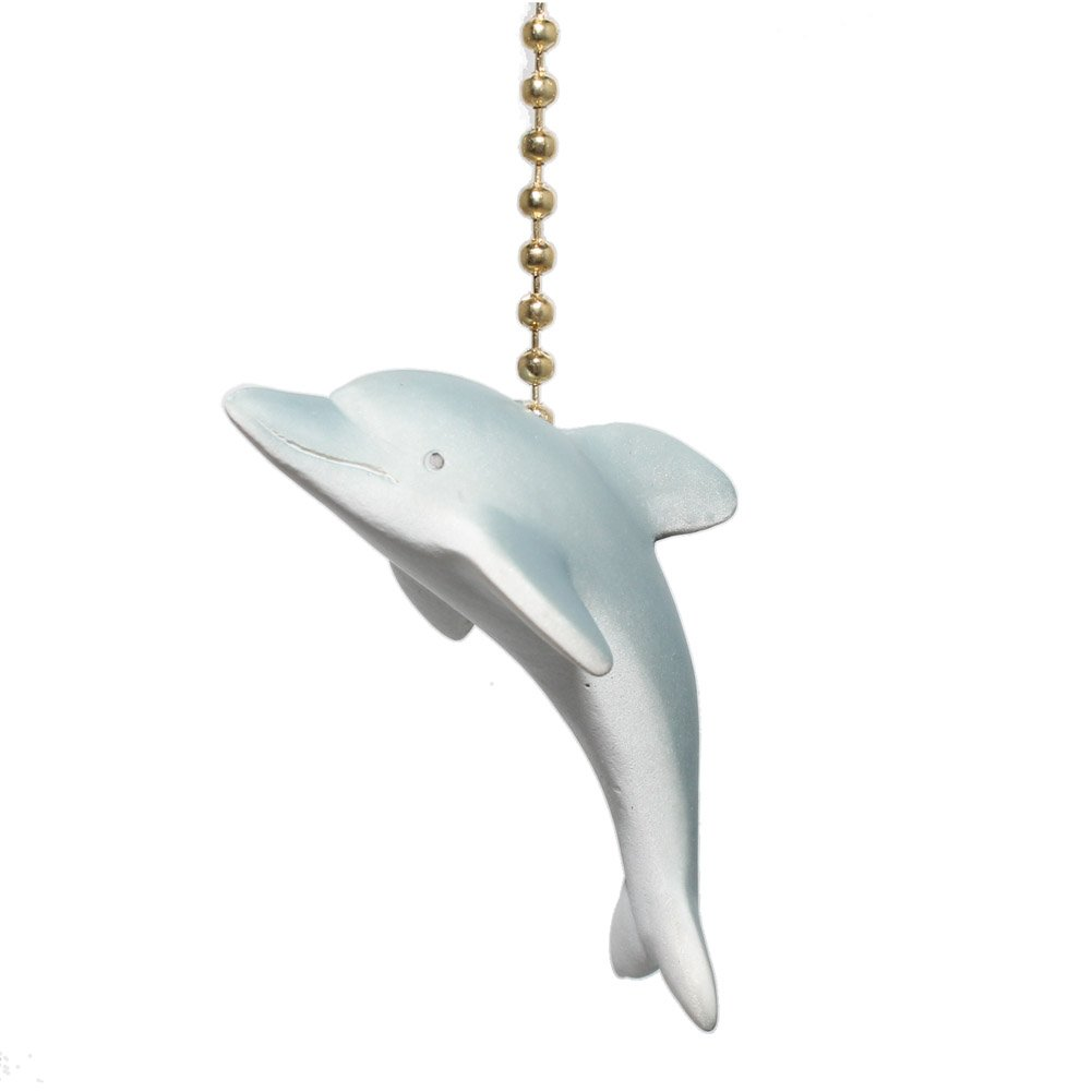 Clementine Designs Tropical Dolphin Porpoise Ocean Life Fan Light Pull