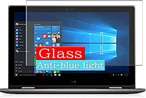 Synvy Anti Blue Light Tempered Glass Screen Protector, Compatible with Dell Inspiron 15 5000 (5579) 2-in-1 15.6