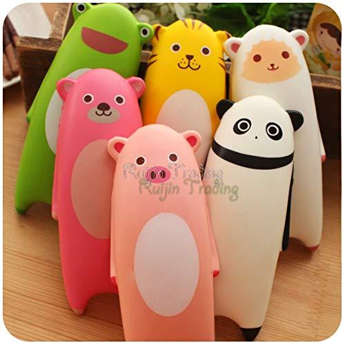1 pieza 1 pieza lindo Jumbo Squishy Cartoon oso panda tigre oveja mano almohada cojín lento aumento niños divertido juguete...
