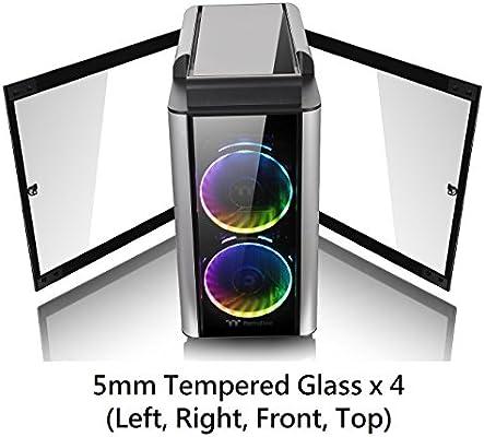 Amazon Com Thermaltake Level 20 Gt E Atx Full Tower Vertical Gpu Modular Gaming Computer Case Computers Accessories