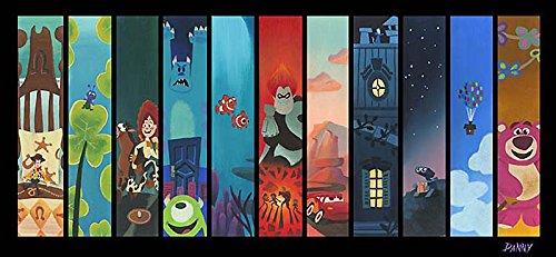 the-pixar-storyline-daniel-arriaga-le-10-11x21-paper-signed-new-disney