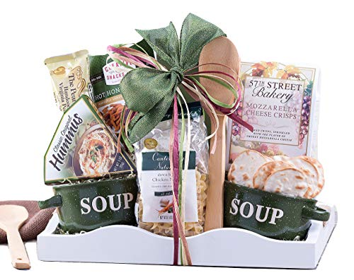 Wine Country Gift Baskets Soup's On Family Gift With Delicious Food and Old-Fashioned Comforting Chicken Soup. from Wine Country Gift Baskets