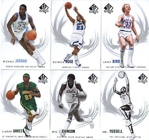 Upper Deck 2010 SP Authentic Basketball Card Set Complete...