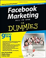 Facebook Marketing All-in-One For Dummies, 2nd Edition Front Cover