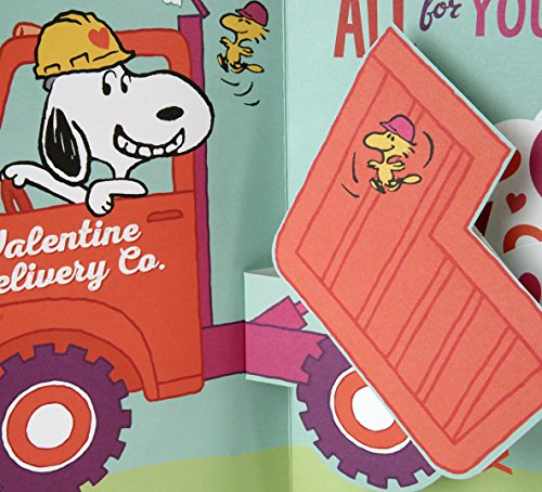 Hallmark Peanuts Valentine's Day Pop Up Card (Snoopy and Woodstocks) Photo #4