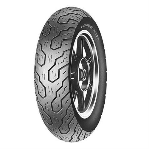 Dunlop K555 Tire - Front - 120/80H17 , Tire Type: Street, Tire Construction: Bias, Tire Size: 120/80-17, Load Rating: 61, Speed Rating: H, Rim Size: 17, Position: Front, Tire Application: Cruiser 32DY75