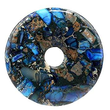 Blue & pyrite