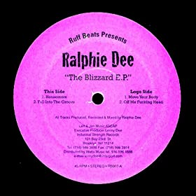 Ralphie Dee - The Blizzard E.P.