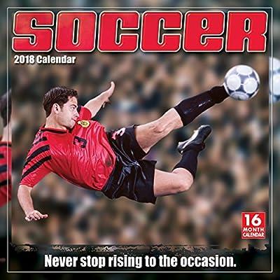 Soccer 2018 Wall Calendar (CA0159)