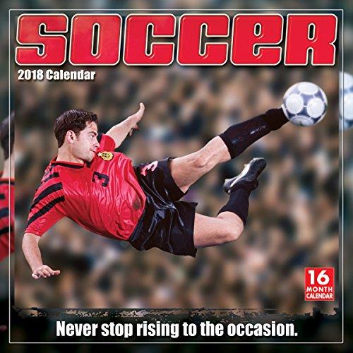 Soccer 2018 Wall Calendar - Player Wall Calendar