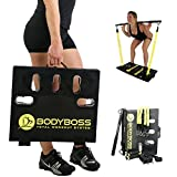 BodyBoss Home Gym 2.0 - Full Portable Gym Home Workout Package, Includes 1 Set of Resistance Bands...